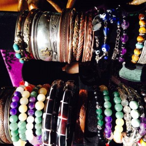 Beautiful Mala Bead bracelets at Spiritworks Gifts.