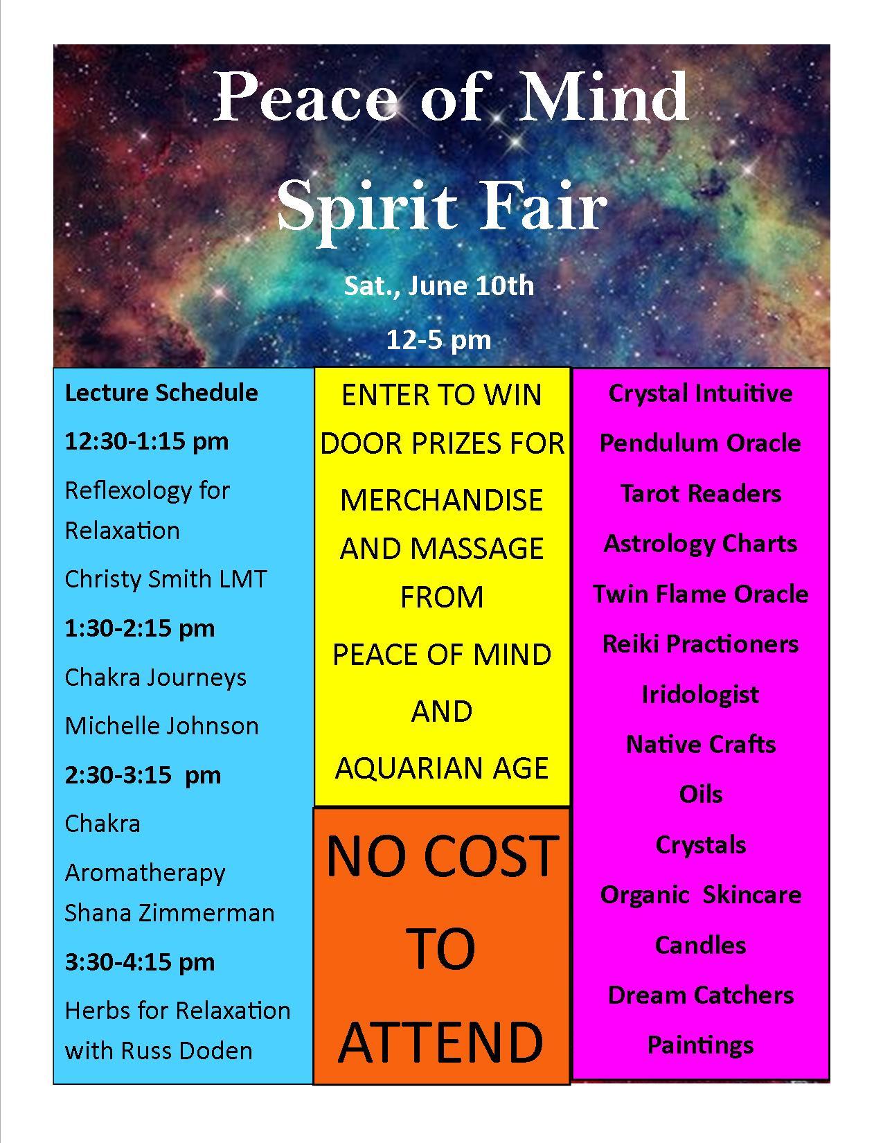 spirit fair