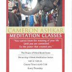 New Thursday Night Meditation Class