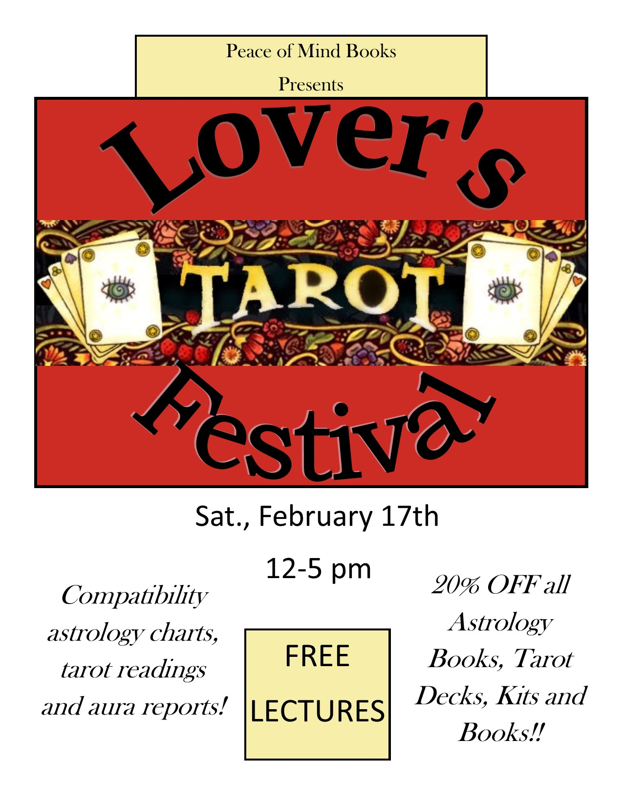 Lovers tarot festival peace of mind books festivals nvjuhfo Image collections