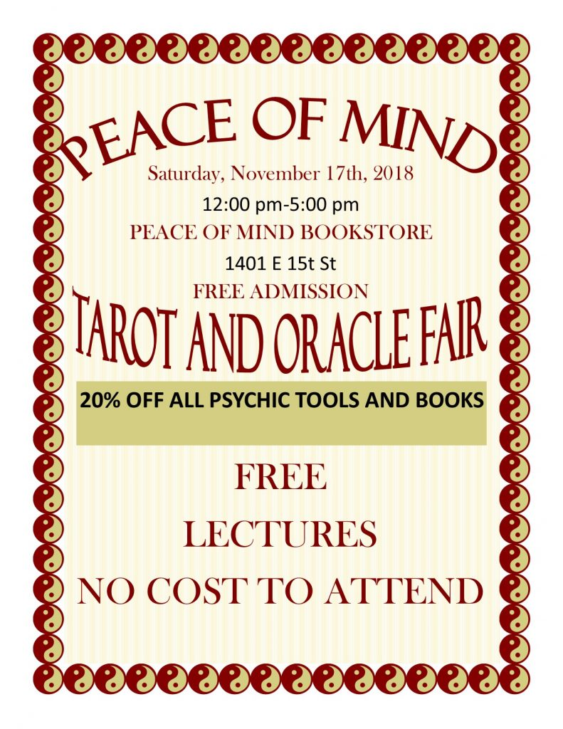 tarot and oracle fair